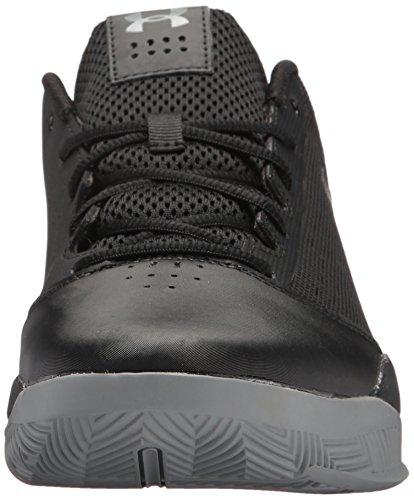 Under Armour Ua Jet Low, Chaussures De Basketball Homme Noir (noir)