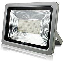 RPGT 100W Blanco Frío Luz Proyector LED Foco proyector, IP65 Impermeable Resistencia Iluminación, Interior / Exterior