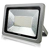LED Scheinwerfer Flutlicht Fluter Strahler Außenstrahler Außenbeleuchtung Innenbeleuchtung IP65 Wasserdicht (100W, Warmweiss)