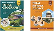 ICSE Class 10 Total Geography for 2021 (Latest Syllabus) & ICSE Class 10 Total History & Civics for 20