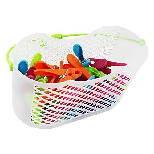@ COM-FOUR® 30mollette da bucato in cestino con pratico gancio recensioni dei consumatori