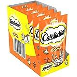 CATISFACTIONS - Au poulet - Friandises pour chats - Sachet de 60 g - Lot de 6