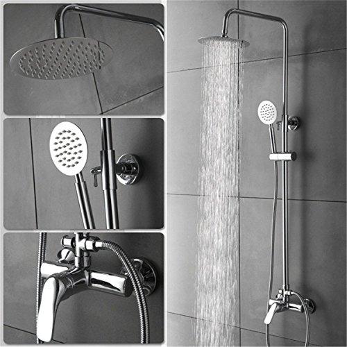 MEIBATH Waschtischarmatur Badezimmer Waschbecken Wasserhahn Küchenarmaturen Messing Duschkopf Messing Regendusche Set Küchen Wasserhahn Badarmatur