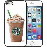Unique Diseño Funda para iPhone 5S/5–Starbucks Anti Scratch Snap On Printed Solid Custom shellh arter Shell
