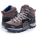 Outdoor Wander-Trekkingschuh-Damen von CMP, wasserdicht & Rutschfest viele Farben. Von Pignolo-su, der Stiefel für Draußen. Sondermodell Ragel, Größe:36, Farbe:Tortora-Ice-Black-High