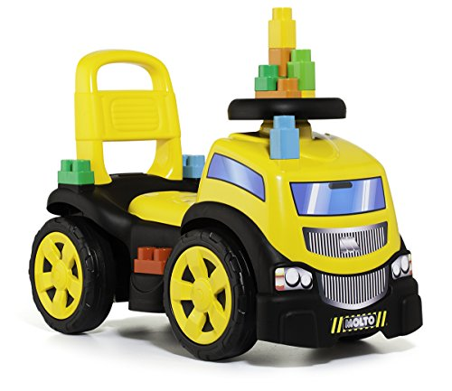 MOLTO Camion correpasillos, 10 bloques (17220)