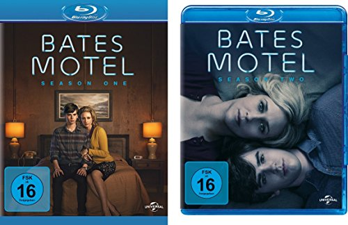 Bates Motel - Staffel 1+2 [Blu-ray]