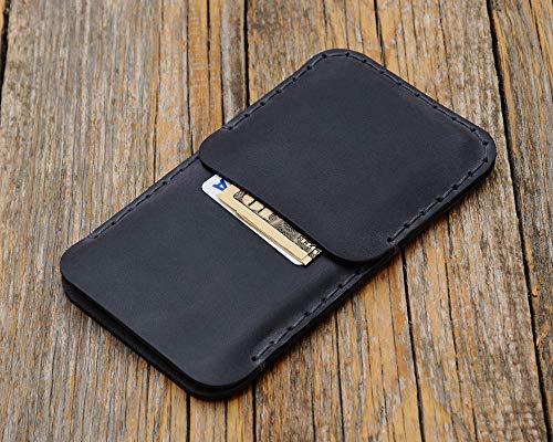 LG V30 Grau Leder Tasche Hülle Etui Cover Case Handyschale Gehäuse Ledertasche Lederetui Lederhülle Handytasche Handysocke Handyhülle Schale Socke