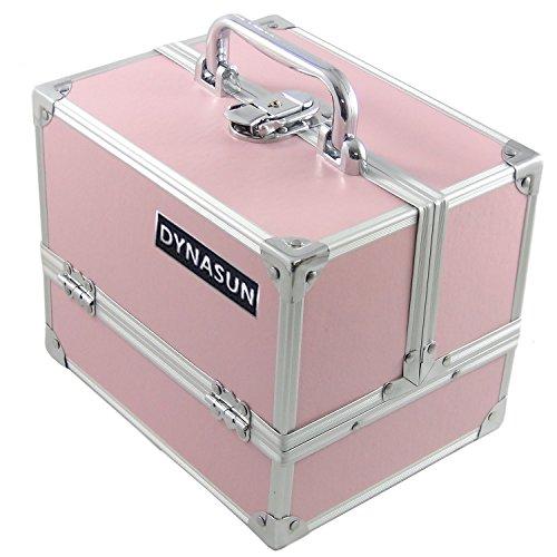 DynaSun Bs35 Beauty Case Make Up Nail Art Porta Gioie, Rosa