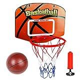Canestro Basket Bambini Adulto Pallacanestro Tabellone Esterno e Interno Cesta Gioco di Sport Giocattoli Ufficio Regalo 3 4 5 6 Anni