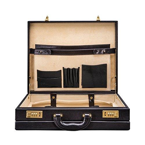 Maxwell Scott Bags® PERSONALISIERT! Luxus Aktenkoffer