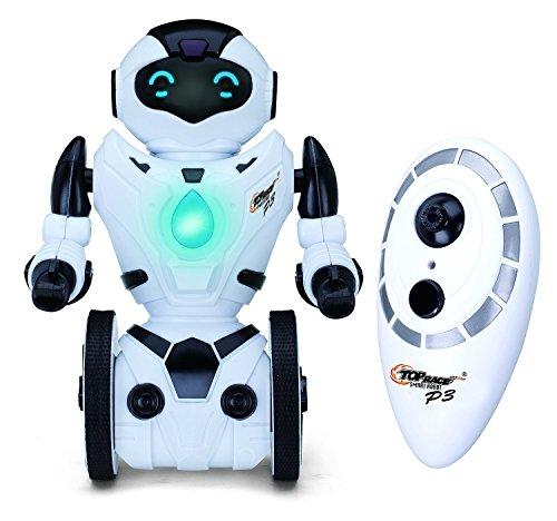 51boeZt3HOL - Top Race® Robot de Control Remoto, Robot Inteligente con Equilibrio Automático, 5 Modos de Funcionamiento. Baile, Boxeo, Conducción, Carga, Gesto. Transmisor 2.4Ghz