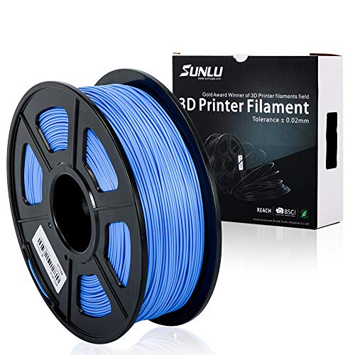 SUNLU 3D Printer Filament PLA Plus, 1.75mm PLA Filament, 3D Printing F