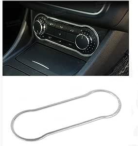 RETYLY Chrome Accessoire Int/érieur CD Switch Paillette Garniture pour Mercedes Cla1 Classe Gla B Classe A180 W176 Gle Classe Coup/é Car Styling