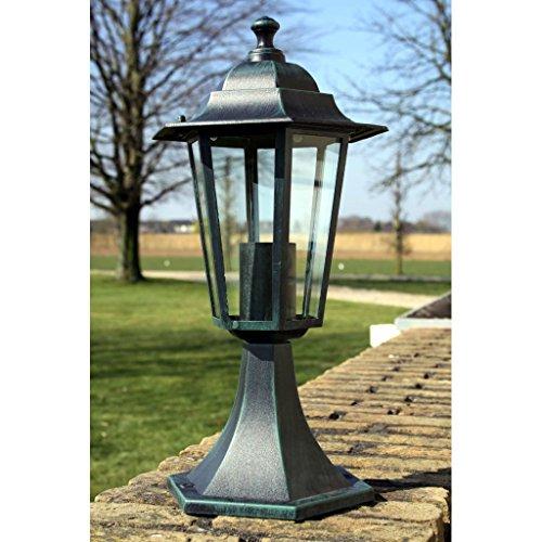 Weilandeal Gartenlampe Mauerlaterne ParisGartenlaterne with Hohe: 41 cm Gartenlaterne