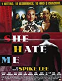Affiche de cinéma originale - SHE HATE ME de Spike Lee - format 40 x 60 cm