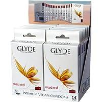 Glyde Ultra Vorteilspack Maxi Red: 10 x 10 große Condome, vegan! preisvergleich bei billige-tabletten.eu