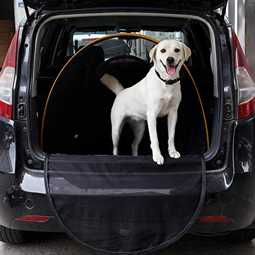 Pet Car Seat Cover Pet Car Dog Cage Dog Tent Pet Car Mat Gold Wool Rear Mat Trunk Dog Car Pad