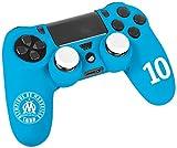 Kit pour manette PS4 - Licence officielle OM - Olympique de Marseille - numéro 10