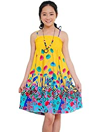 ESHOO - Vestido - trapecio - para niña