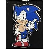 Sonic The Hedgehog Metal Key Ring