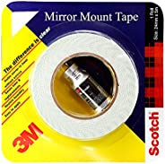 3M IA120100150 Mirror Mounting Tape, 12 mm x 2.5 m (1 Roll)