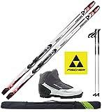 Fischer Damen Langlaufski-Set Passion My Style - Ski 164cm + Bindung + Schuhe + Stöcke + Skisack 15/16