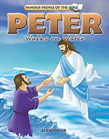 Peter Walks on Water (Famous People of the Bible) by Simi Lu (2009) Board book