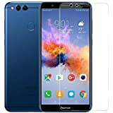 Honor 7X, LR Tempered Glass, Premium Real 2.5D 9H Anti-Fingerprints & Oil Stains Coating Hardness Screen Protector Guard For Honor 7X