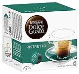 Nescafé Dolce Gusto Kaffeekapseln, Espresso Ristretto, 48 Kapseln für 48 Getränke