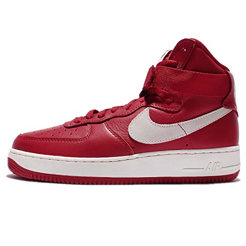 Nike Herren Air Force 1 Hi Retro QS Handballschuhe, Rot/Weiß (Gym Red/Summit White), 39 EU (Nike 1 Force Retro Air)
