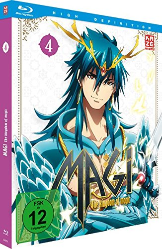 Magi - The Kingdom of Magic - Box 4 [Blu-ray]