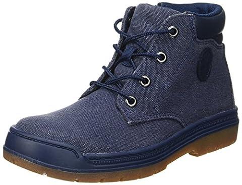Timberland Unisex-Kinder Ramble Wild Lacenavy Chukka Boots, Blau (Navy Canvas), 31 EU