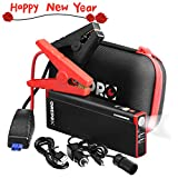 GREPRO Portable Car Jump Starter 1000A 18000mAh Auto External Battery Charger for 12V