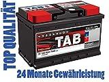 Autobatterie - Starterbatterie 12V 55 Ah 560 EN 30 % Extra-Startleistung