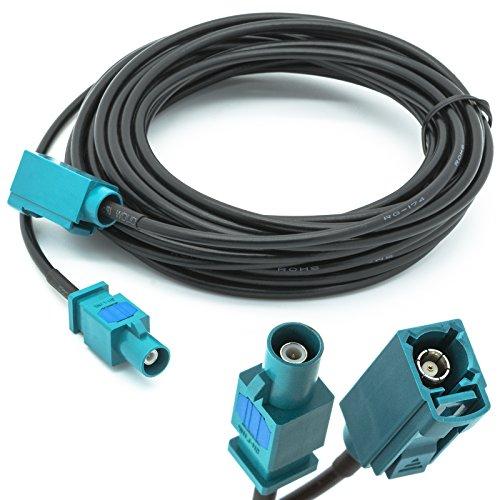 fakra kabel Adapter Universe 5m Verlängerung FAKRA Stecker auf FAKRA Buchse Antennen Adapter RG 174 Typ Z Kabel für Universal GPS- Antennen