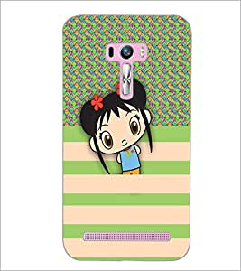 PrintDhaba Cartoon D-5791 Back Case Cover for ASUS ZENFONE SELFIE ZD551KL ULTRA (Multi-Coloured)