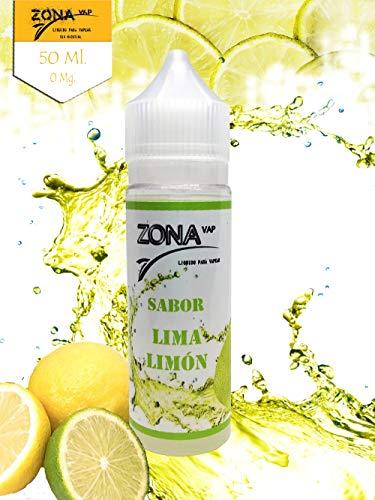 Zona Vap Lima-Limón 50ml E líquido Liquido Vaper
