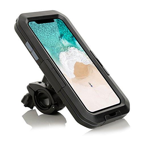 Arktis wasserdichtes Fahrrad Case Halterung Bike Mount kompatibel mit iPhone XS Max -
