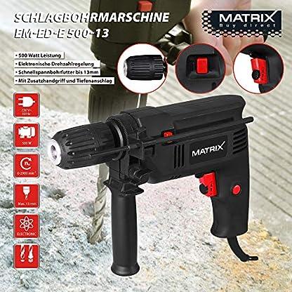 Matrix 120100050 Taladro de impacto