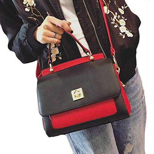 KYFW Womens Art- Und Weisehandtaschen-Platin-Paket-Art Und Weise Einfache Schulter-Beutel B