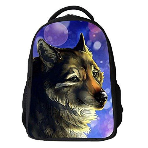 Ohmais 3D Tier Rücksack Rucksäcke Backpack Daypack Schulranzen Schulrucksack Wanderrucksack Schultasche Rucksack für Schülerin lina