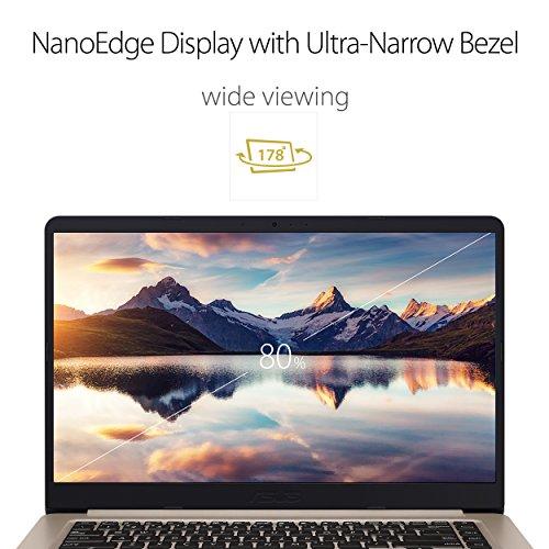 Asus Vivobook S510UA-DB71 Laptop (Windows 10, 8GB RAM, 1000GB HDD) Gold Price in India