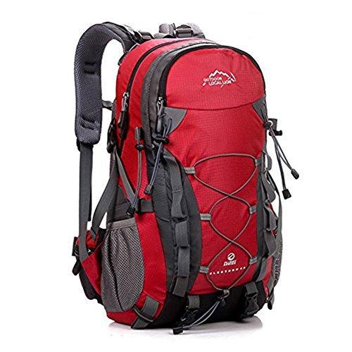 Erwaa 40l spalla zaino unisex impermeabile trekking alpinismo arrampicata zaino traspirante all'aperto per montagna ciclismo escursioni viaggio trekking campeggio