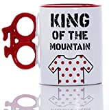 Boxer King of the Mountain Bike Kaffeebecher, Keramik, rot