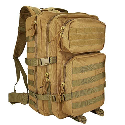 ProCase Mochila 40 L Táctica Militar, Paquete de Asalto MOLLE de Gran Capacidad para Utilidad Militar...