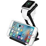 Apple Watch Stand, [2016 NEUESTE] Aerb Aluminum iPhone iWatch Dual-Stand mit IHNEN Dock ...