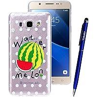 Yokata Samsung Galaxy J5 2016 Hülle Transparent Glitzer Weiche Silikon Handyhülle Schutzhülle TPU Handy Tasche... preisvergleich bei billige-tabletten.eu