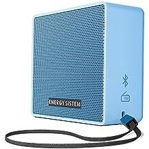 Energy Sistem Music Box 1+ - Altavoz Portátil, Bluetooth v 4.1, 5 W, microSD MP3, Radio FM, Audio-In, Color Azul (Sky)