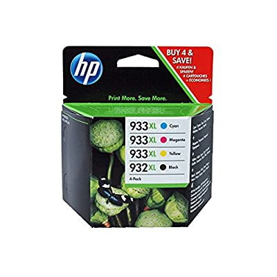 HP 933XL High Yield Original Ink Cartridge (CN056AE)